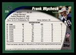 2002 Topps #228  Frank Wycheck  Back Thumbnail