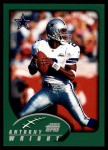 2002 Topps #252  Anthony Wright  Front Thumbnail