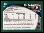 2002 Topps #348  Tim Carter  Back Thumbnail