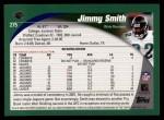 2002 Topps #275  Jimmy Smith  Back Thumbnail