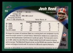 2002 Topps #354  Josh Reed  Back Thumbnail