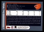 2003 Topps #164  Dez White  Back Thumbnail