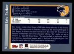 2003 Topps #67  Eric Parker  Back Thumbnail