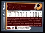 2003 Topps #168  Chad Morton  Back Thumbnail