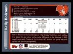 2003 Topps #79  Kelly Holcomb  Back Thumbnail