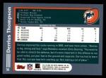 2003 Topps #56  Derrius Thompson  Back Thumbnail