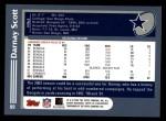 2003 Topps #89  Darnay Scott  Back Thumbnail
