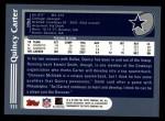 2003 Topps #111  Quincy Carter  Back Thumbnail