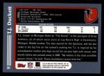 2003 Topps #90  T.J. Duckett  Back Thumbnail