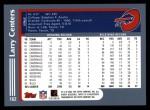 2003 Topps #162  Larry Centers  Back Thumbnail
