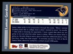 2003 Topps #72  Lamar Gordon  Back Thumbnail