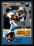 2003 Topps #304   -  Steve Smith Weekly Wrap-Up Front Thumbnail