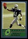 2003 Topps #383  Terence Newman  Front Thumbnail