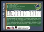 2003 Topps #371  Artose Pinner  Back Thumbnail