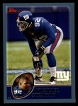 2003 Topps #216  Michael Strahan  Front Thumbnail