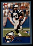 2003 Topps #212  Troy Brown  Front Thumbnail