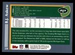 2003 Topps #339  B.J. Askew  Back Thumbnail