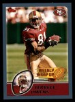 2003 Topps #298   -  Terrell Owens Weekly Wrap-Up Front Thumbnail