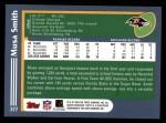 2003 Topps #377  Musa Smith  Back Thumbnail