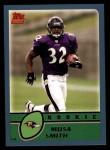 2003 Topps #377  Musa Smith  Front Thumbnail