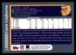 2003 Topps #276  Chris Claiborne  Back Thumbnail