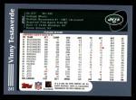 2003 Topps #241  Vinny Testaverde  Back Thumbnail