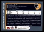 2003 Topps #252  Reche Caldwell  Back Thumbnail
