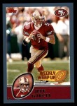 2003 Topps #299   -  Jeff Garcia Weekly Wrap-Up Front Thumbnail