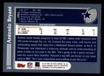 2003 Topps #206  Antonio Bryant  Back Thumbnail