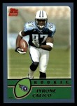 2003 Topps #367  Tyrone Calico  Front Thumbnail