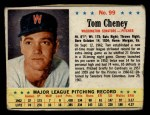 1963 Post #99  Tom Cheney  Front Thumbnail