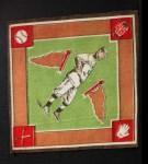 1914 B18 Blankets #21  Frank Chance  Back Thumbnail