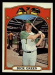 1972 Topps #780  Dick Green  Front Thumbnail