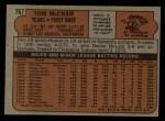 1972 Topps #767  Tom McCraw  Back Thumbnail