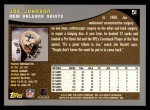 2001 Topps #51  Joe Johnson  Back Thumbnail