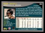 2001 Topps #104  Mark Brunell  Back Thumbnail