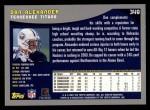 2001 Topps #349  Dan Alexander  Back Thumbnail