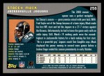2001 Topps #256  Stacey Mack  Back Thumbnail