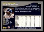 2001 Topps #204  Jeff Graham  Back Thumbnail