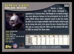 2001 Topps #368  Derrick Gibson  Back Thumbnail