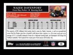 2005 Topps #45  Najeh Davenport  Back Thumbnail