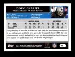 2005 Topps #151  Doug Gabriel  Back Thumbnail