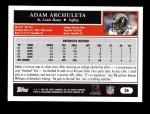 2005 Topps #36  Adam Archuleta  Back Thumbnail