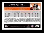 2005 Topps #195  Marc Bulger  Back Thumbnail