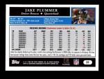 2005 Topps #31  Jake Plummer  Back Thumbnail