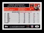 2005 Topps #180  Eddie Kennison  Back Thumbnail