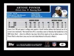 2005 Topps #41  Artose Pinner  Back Thumbnail