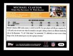 2005 Topps #216  Michael Clayton  Back Thumbnail