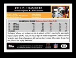 2005 Topps #244  Chris Chambers  Back Thumbnail
