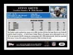 2005 Topps #259  Steve Smith  Back Thumbnail